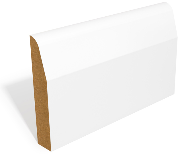 Chamfer and Round (SAM22) MDF Skirting and Architrave