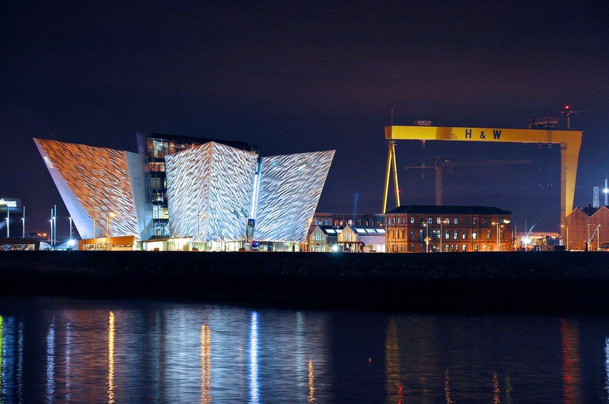 Titanic Belfast H Amp W Cranes Sam