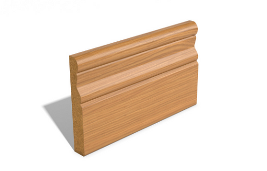 Moulded SAM1449 Wrapped MDF Skirting and Architrave