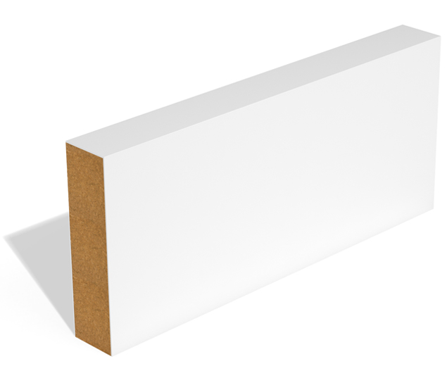 Square Edge MDF Skirting and Architrave