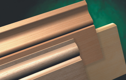 Foil Wrapped Mdf Mouldings Foil Wrapped Skirting
